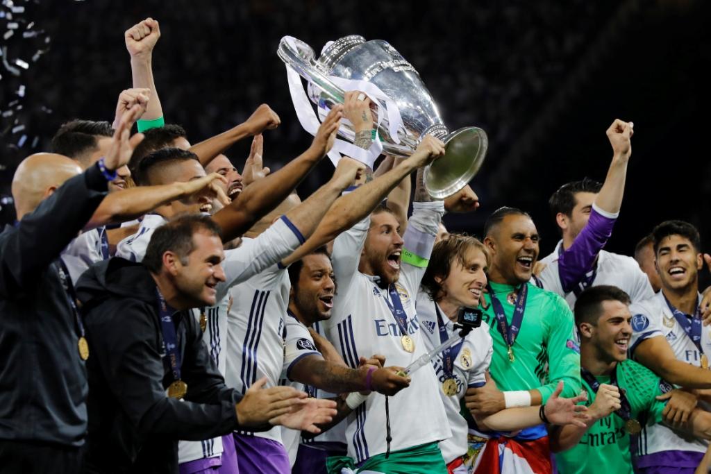 احتفال ريال مدريد