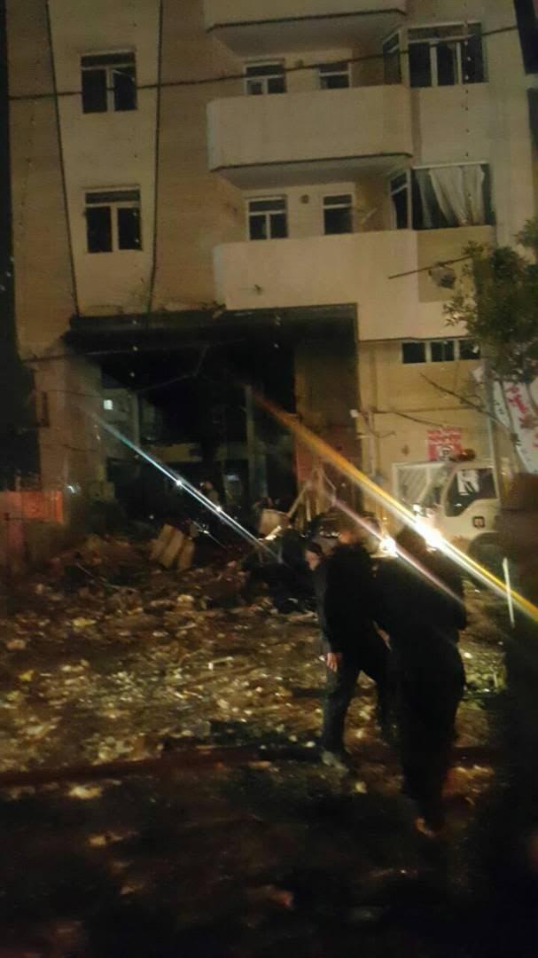 الانفجار فى إيران