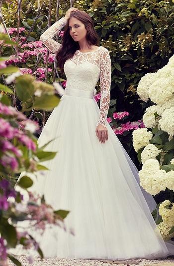 c27a09839 لو فرحك قرب..تعرفى على أحدث موديلات فساتين الزفاف لـ Nevill Suzanne ...