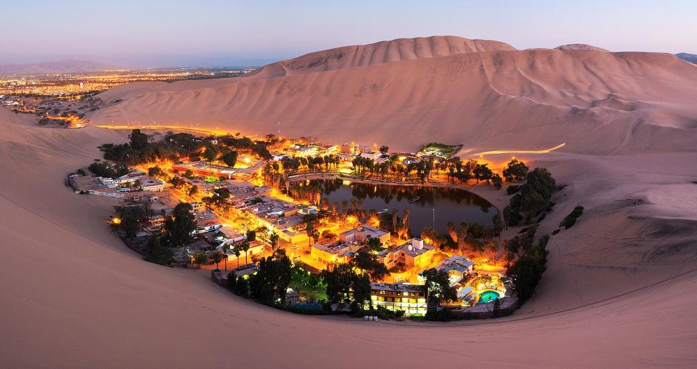 واحة فى بيرو