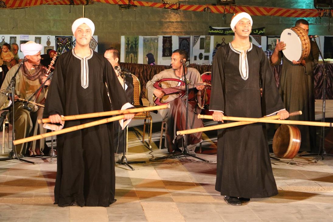 جمهور الجمالية يشارك السباعية والأقصر في احتفالات رمضان (3)