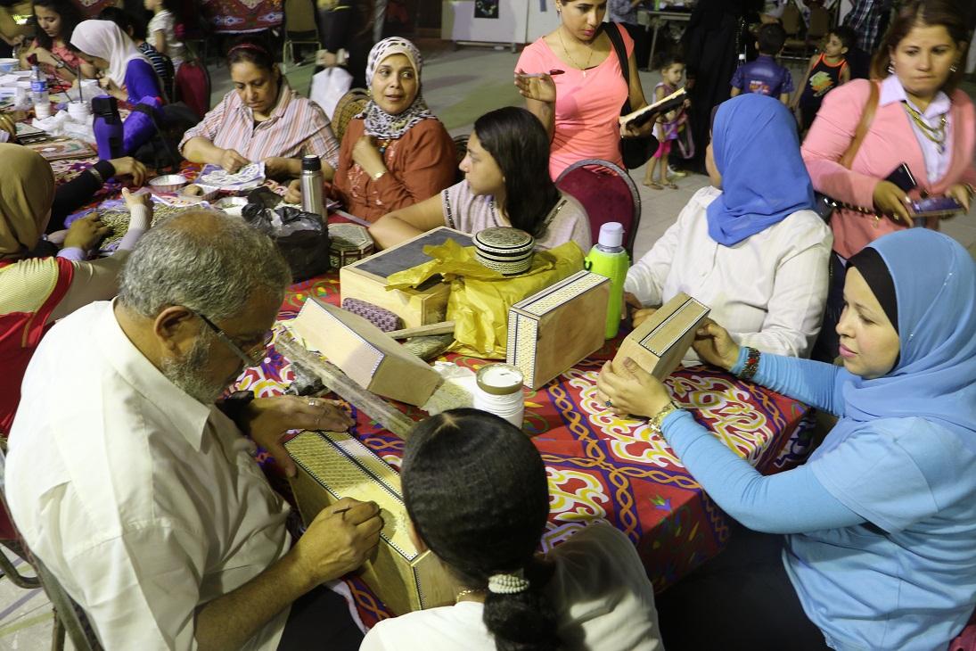 جمهور الجمالية يشارك السباعية والأقصر في احتفالات رمضان (17)