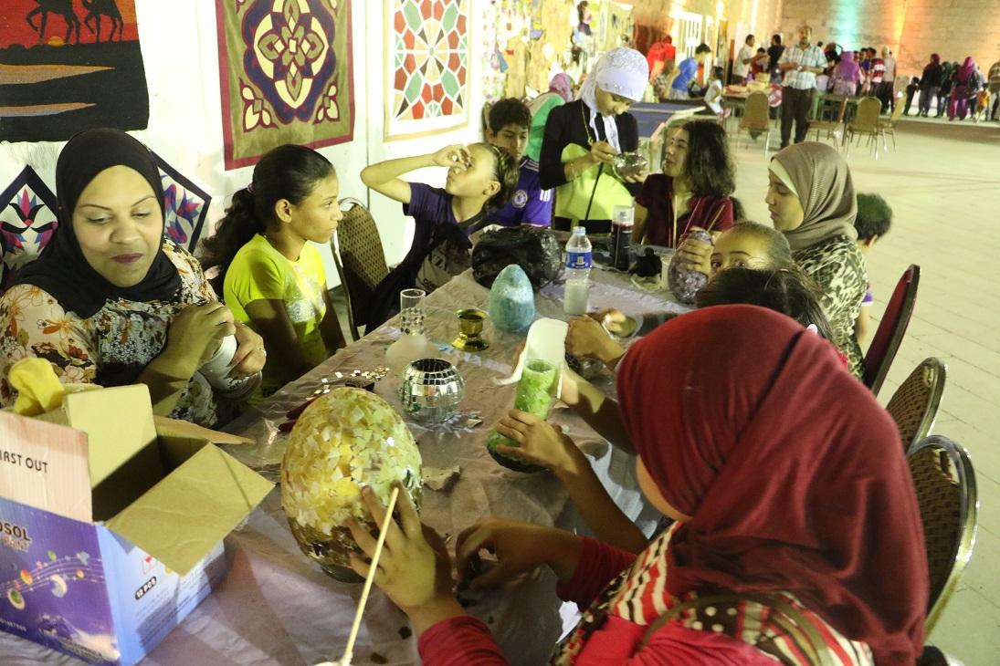 جمهور الجمالية يشارك السباعية والأقصر في احتفالات رمضان (20)