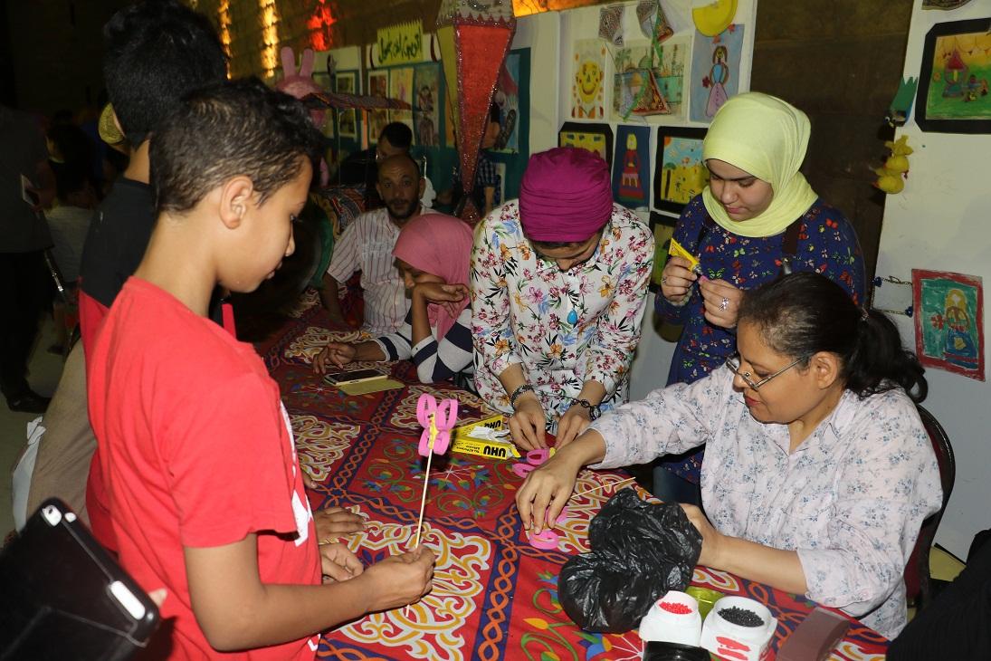 جمهور الجمالية يشارك السباعية والأقصر في احتفالات رمضان (18)
