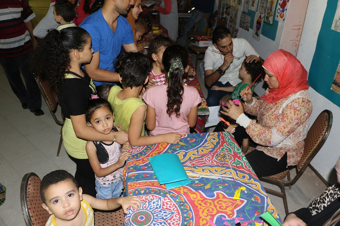 جمهور الجمالية يشارك السباعية والأقصر في احتفالات رمضان (19)