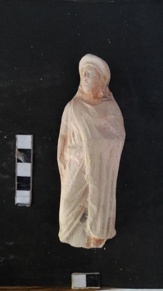 اكتشاف مقبرة تعود لعصر الهيلنستى فى الإسكندرية (3)