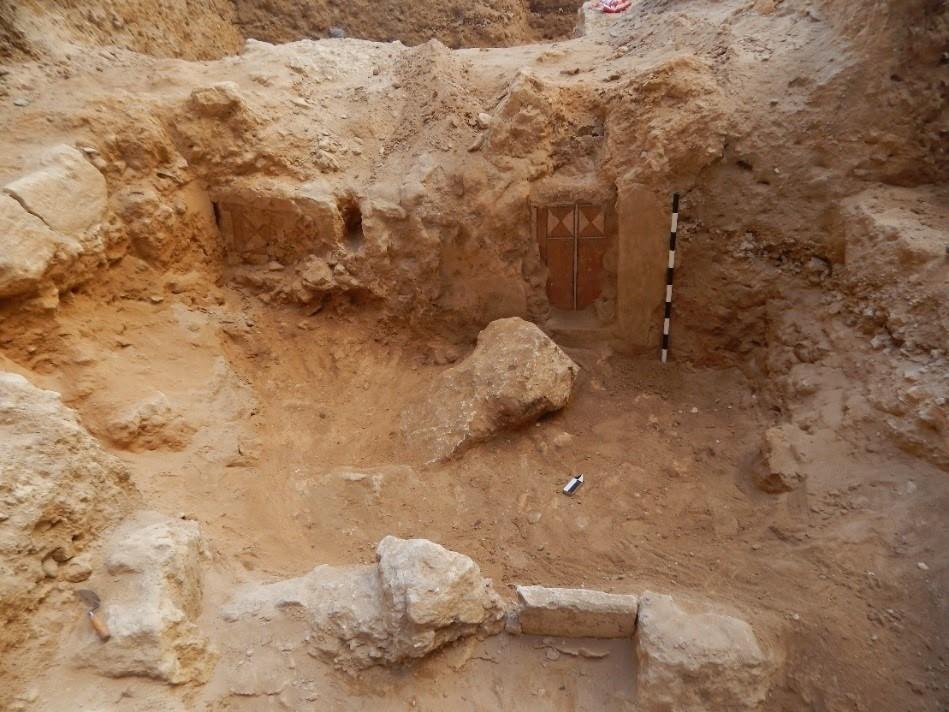 اكتشاف مقبرة تعود لعصر الهيلنستى فى الإسكندرية (5)