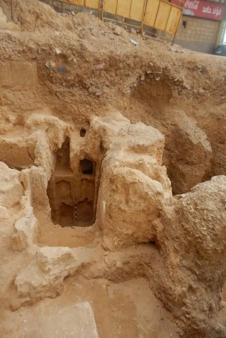 اكتشاف مقبرة تعود لعصر الهيلنستى فى الإسكندرية (1)