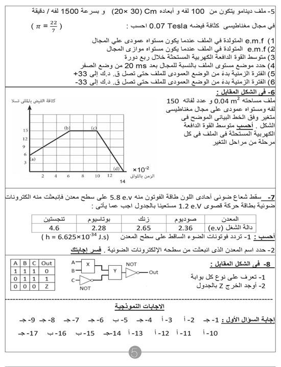 مراجعات الثانوية العامة  (5)