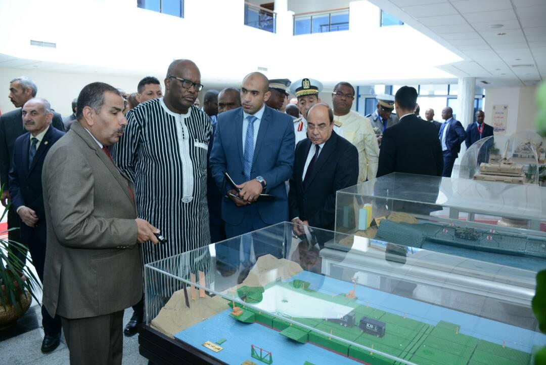 رئيس بوركينا فاسو يزور الهيئة القومية للإنتاج الحربى