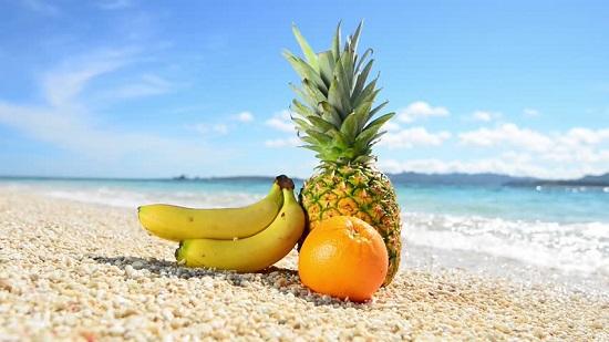 سناكس الشاطئ الصحية