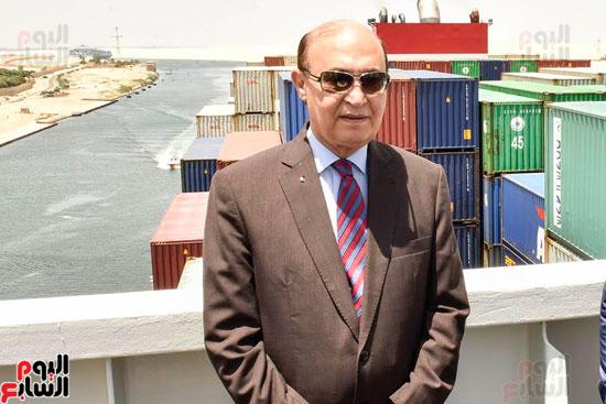 الفريق مهاب مميش رئيس هيئة القناة
