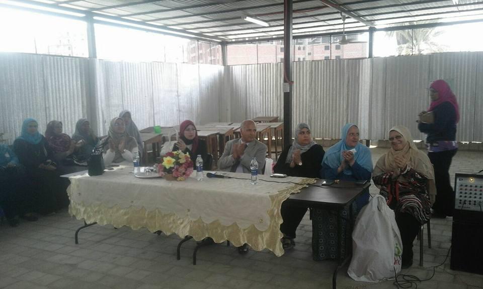 تكريم 70 طالبة متفوقة مدارس التمريض فى بنى سويف