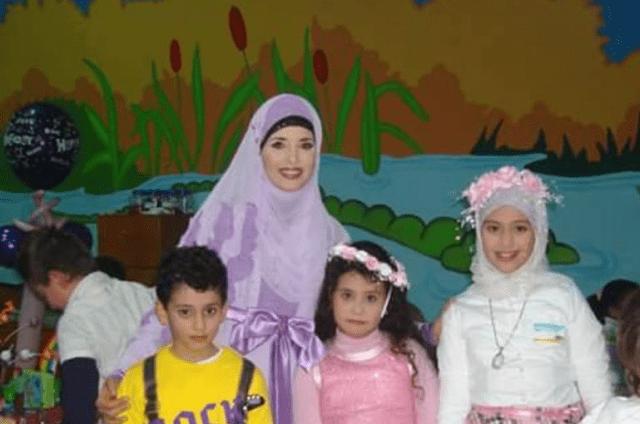 جيهان نصر وأبنائها