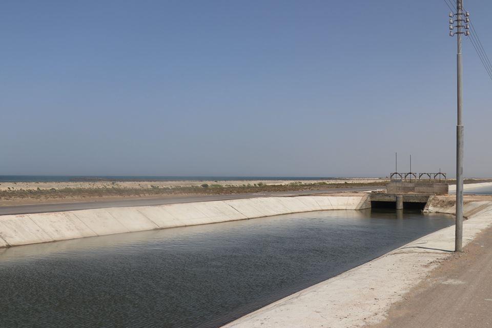 10- جانب من المزرعة السمكية ببركة غليون