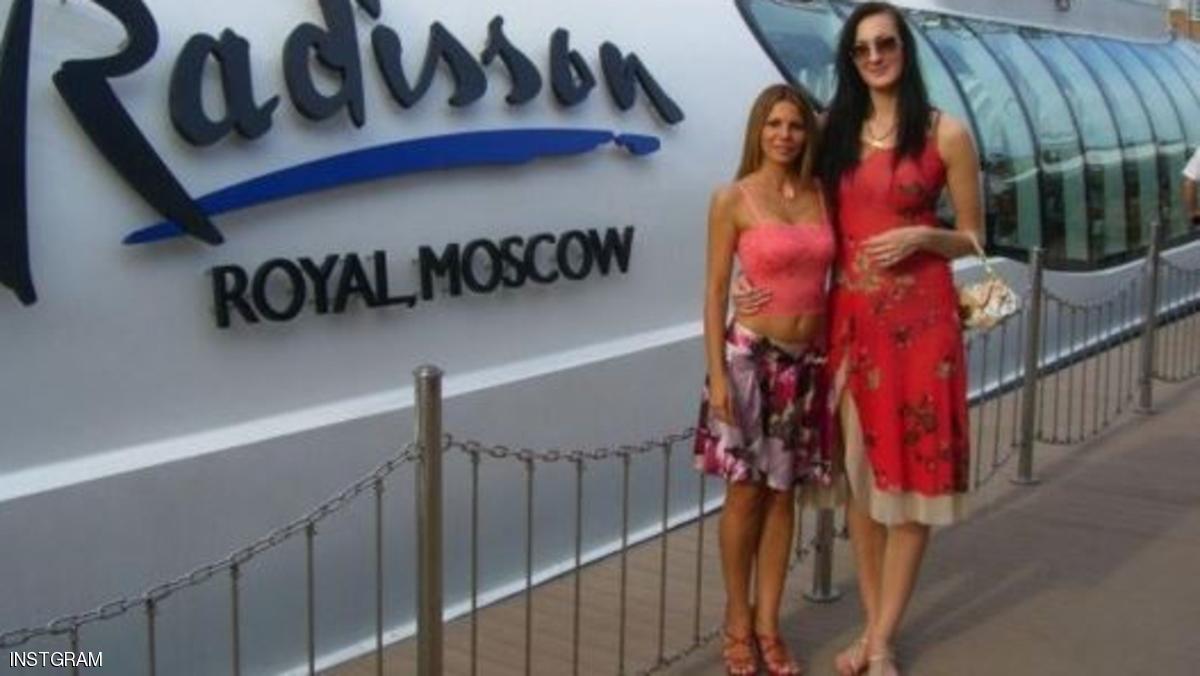 الروسية صاحبة أطول ساقين