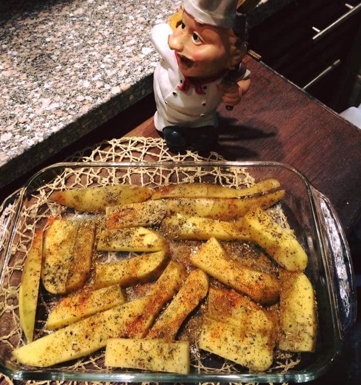 طريقة عمل البطاطس الودجز
