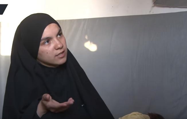 نور الهدى زوجة سابقة لداعشى1
