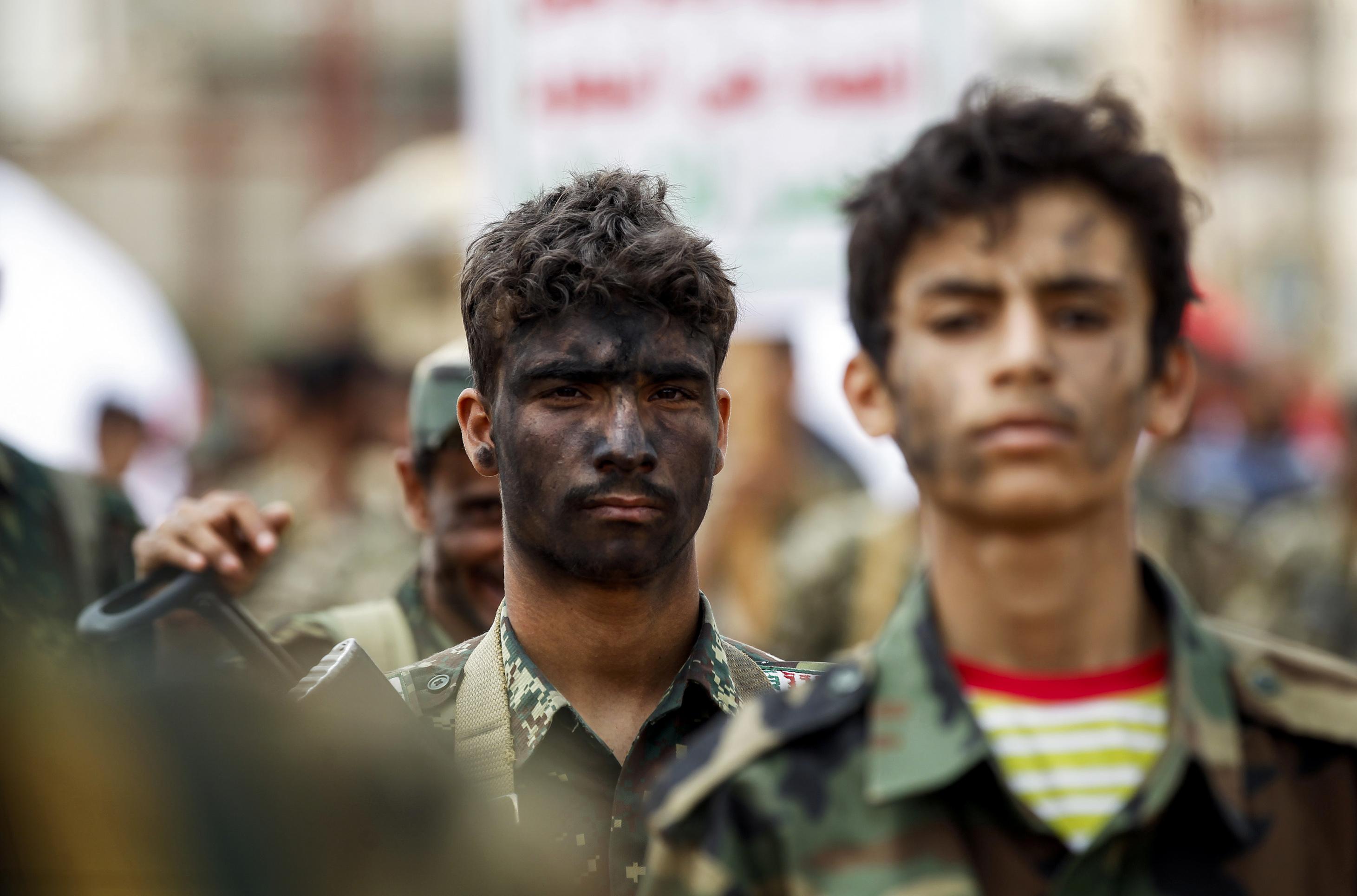 مقاتلون جدد فى مليشيا الحوثى