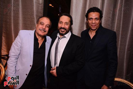 الموسيقار أمير عبد المجيد يحتفل بزفاف ابنته على الإعلامى أحمد الطاهرى (39)