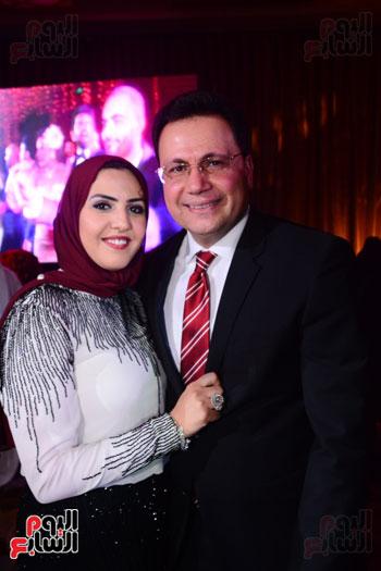 الموسيقار أمير عبد المجيد يحتفل بزفاف ابنته على الإعلامى أحمد الطاهرى (10)