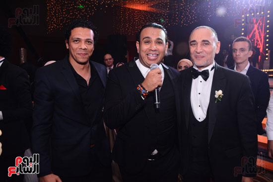 الموسيقار أمير عبد المجيد يحتفل بزفاف ابنته على الإعلامى أحمد الطاهرى (57)