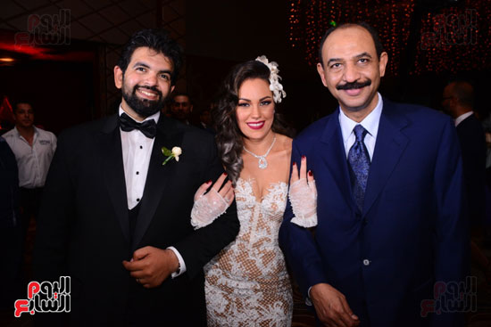 الموسيقار أمير عبد المجيد يحتفل بزفاف ابنته على الإعلامى أحمد الطاهرى (13)