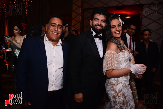 الموسيقار أمير عبد المجيد يحتفل بزفاف ابنته على الإعلامى أحمد الطاهرى (16)