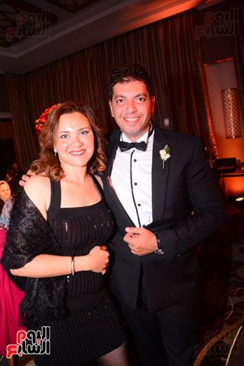 الموسيقار أمير عبد المجيد يحتفل بزفاف ابنته على الإعلامى أحمد الطاهرى (32)