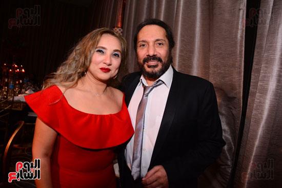 الموسيقار أمير عبد المجيد يحتفل بزفاف ابنته على الإعلامى أحمد الطاهرى (37)