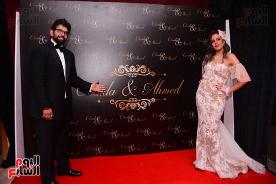 الموسيقار أمير عبد المجيد يحتفل بزفاف ابنته على الإعلامى أحمد الطاهرى (74)