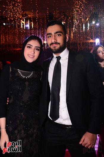 الموسيقار أمير عبد المجيد يحتفل بزفاف ابنته على الإعلامى أحمد الطاهرى (40)