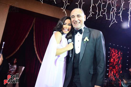 الموسيقار أمير عبد المجيد يحتفل بزفاف ابنته على الإعلامى أحمد الطاهرى (36)