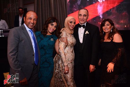 الموسيقار أمير عبد المجيد يحتفل بزفاف ابنته على الإعلامى أحمد الطاهرى (26)
