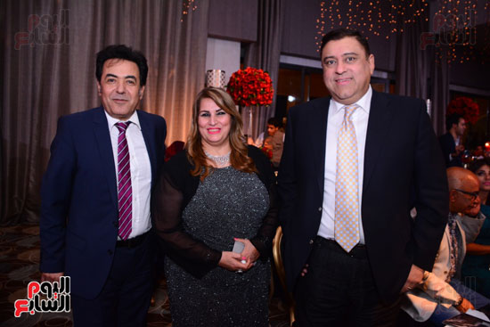 الموسيقار أمير عبد المجيد يحتفل بزفاف ابنته على الإعلامى أحمد الطاهرى (25)