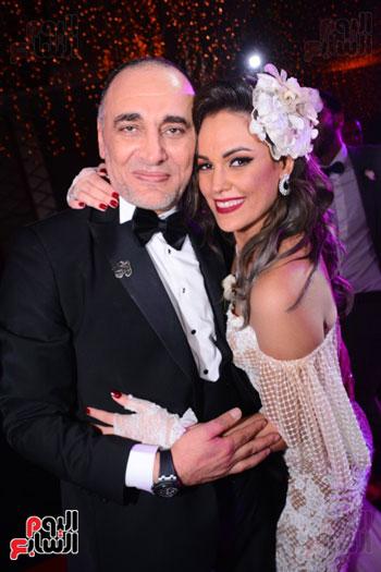 الموسيقار أمير عبد المجيد يحتفل بزفاف ابنته على الإعلامى أحمد الطاهرى (67)