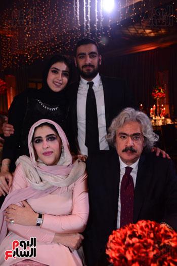 الموسيقار أمير عبد المجيد يحتفل بزفاف ابنته على الإعلامى أحمد الطاهرى (59)