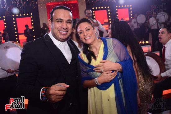 الموسيقار أمير عبد المجيد يحتفل بزفاف ابنته على الإعلامى أحمد الطاهرى (56)