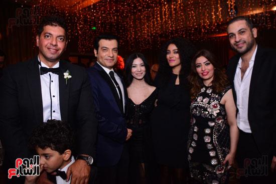 الموسيقار أمير عبد المجيد يحتفل بزفاف ابنته على الإعلامى أحمد الطاهرى (4)