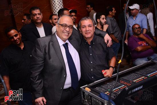 الموسيقار أمير عبد المجيد يحتفل بزفاف ابنته على الإعلامى أحمد الطاهرى (35)