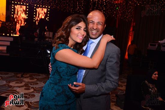 الموسيقار أمير عبد المجيد يحتفل بزفاف ابنته على الإعلامى أحمد الطاهرى (27)