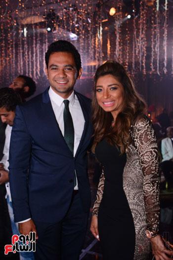 الموسيقار أمير عبد المجيد يحتفل بزفاف ابنته على الإعلامى أحمد الطاهرى (61)