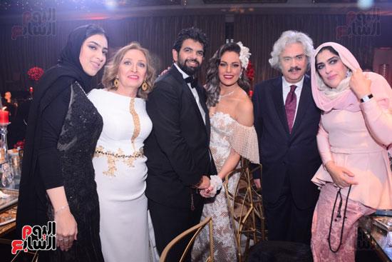الموسيقار أمير عبد المجيد يحتفل بزفاف ابنته على الإعلامى أحمد الطاهرى (53)