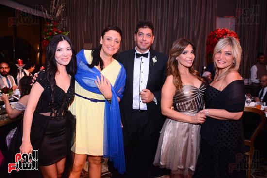 الموسيقار أمير عبد المجيد يحتفل بزفاف ابنته على الإعلامى أحمد الطاهرى (31)
