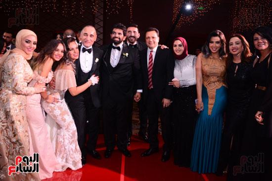 الموسيقار أمير عبد المجيد يحتفل بزفاف ابنته على الإعلامى أحمد الطاهرى (11)