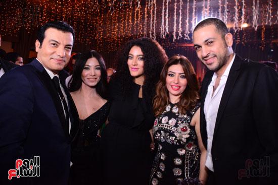 الموسيقار أمير عبد المجيد يحتفل بزفاف ابنته على الإعلامى أحمد الطاهرى (3)
