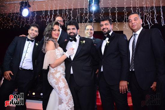 الموسيقار أمير عبد المجيد يحتفل بزفاف ابنته على الإعلامى أحمد الطاهرى (49)
