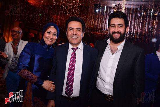 الموسيقار أمير عبد المجيد يحتفل بزفاف ابنته على الإعلامى أحمد الطاهرى (42)
