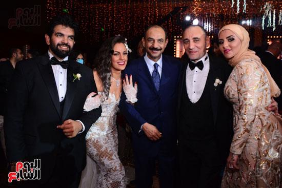 الموسيقار أمير عبد المجيد يحتفل بزفاف ابنته على الإعلامى أحمد الطاهرى (12)
