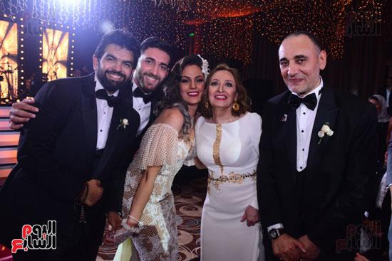 الموسيقار أمير عبد المجيد يحتفل بزفاف ابنته على الإعلامى أحمد الطاهرى (23)